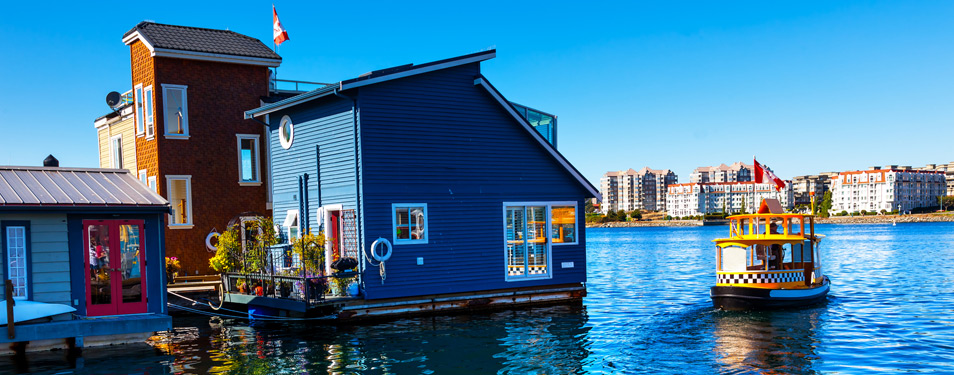 Fisherman S Wharf Float Houses Homeguard Building